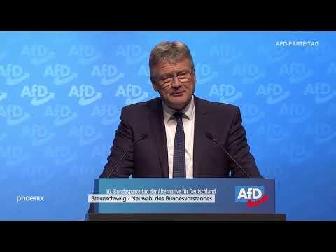 Bewerbungsrede von Jörg Meuthen zum Parteivorsitz auf dem AfD-Parteitag am 30.11.19