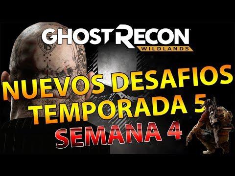 NUEVOS DESAFIOS TEMPORADA 5 SEMANA 4 - P416 MIXTECA - GHOST RECON WILDLANDS