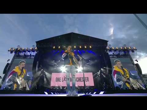 Justin bieber- Love Yourself (Live From One Love Manchester Ariana Grande)HD