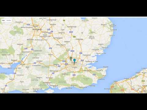 Google Maps integration within CRM added to Enapps ERP Google maps integration