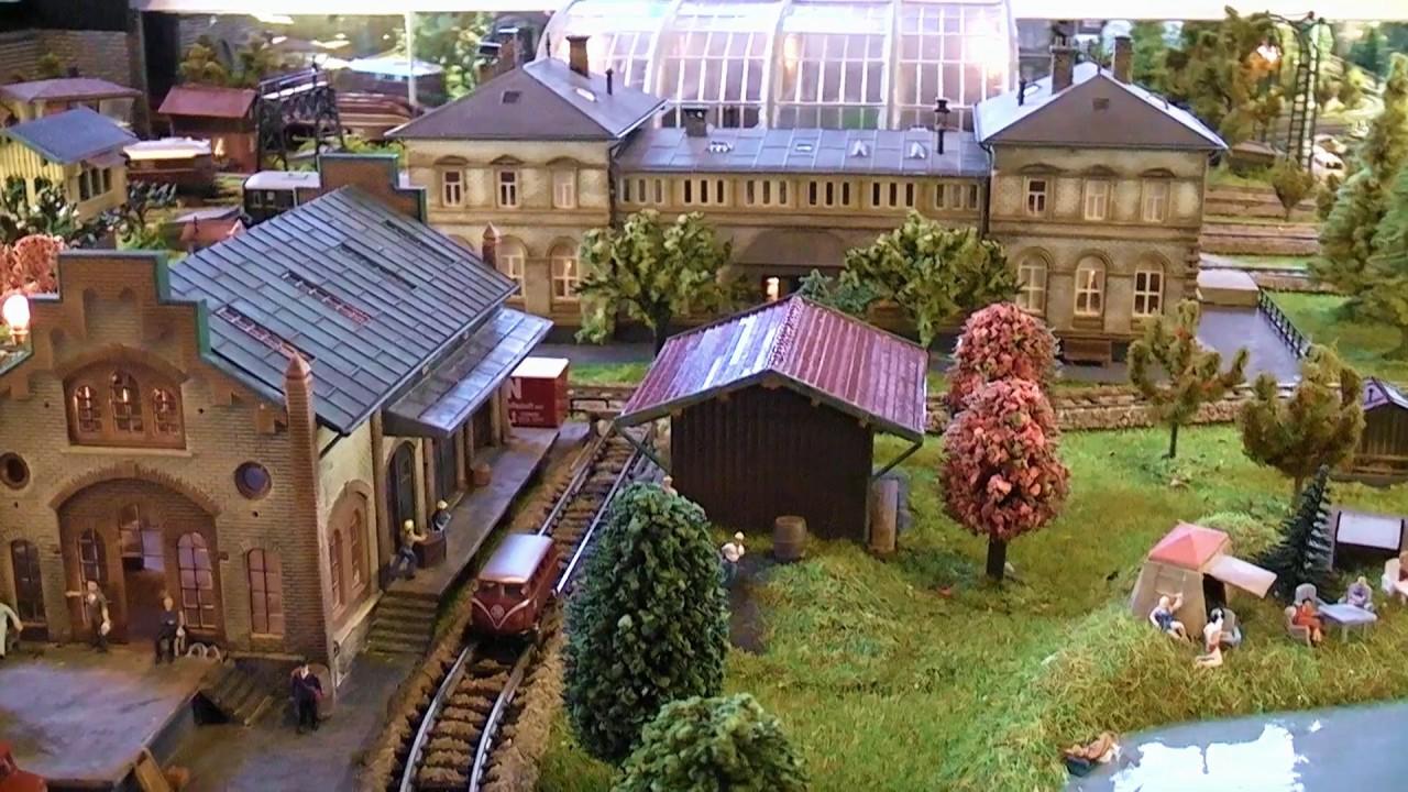 n scale model train coffee table - youtube