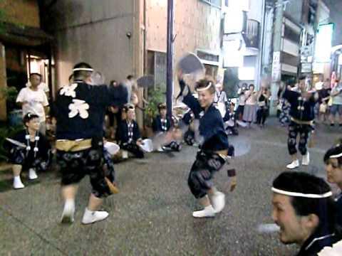 2010徳島の阿波踊り!!(日本の祭り)トランスDance!!双六連