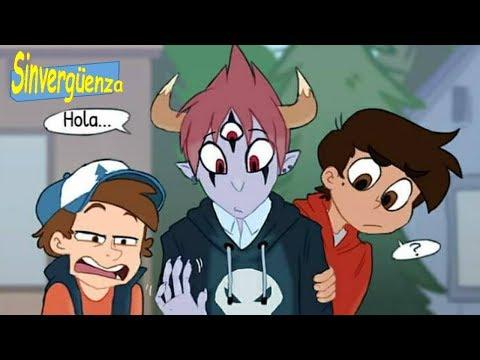 STAR VS GRAVITY FALLS CROSSOVER  comics español