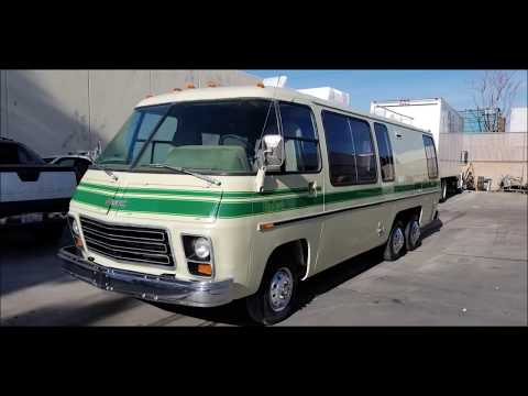 1977 GMC PALM BEACH MOTORHOME FOR SALE.  southern california.  driven.co