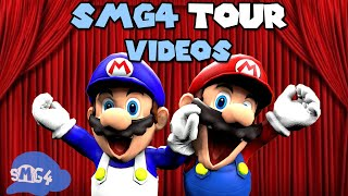 The SMG4 videos we made on The SMG4 Tour...