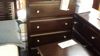7 Piece Solid Hardwood Bedroom Set $1099 Complete Queen Size