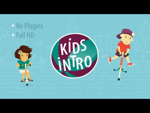 Kids Intro After Effects Template Envato Videohive Intro Logo YouTube
