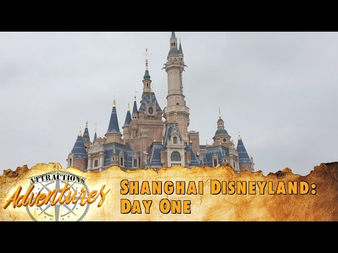 Attractions Adventures - 'Shanghai Disneyland: Day One' - Feb. 17, 2017
