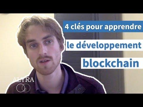 4clés pour apprendre le développement blockchain