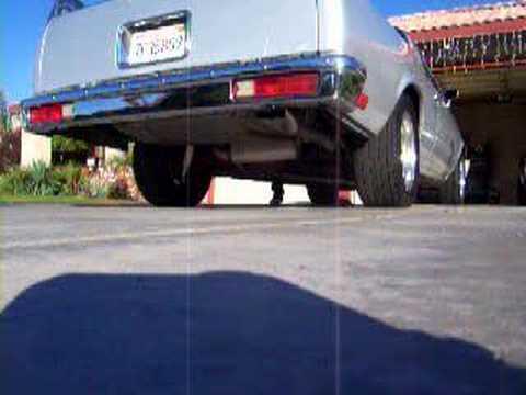 1985 El Camino Flowmaster Exhaust Youtube