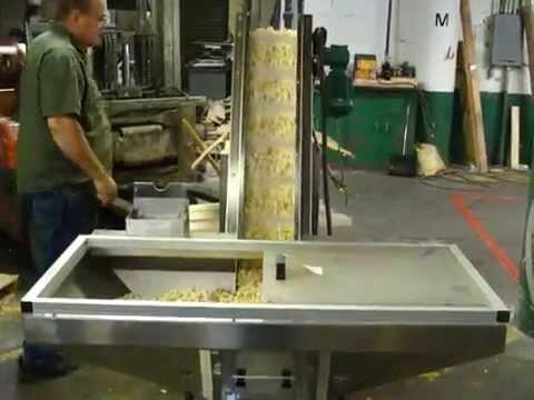 Inclined Conveyor Reg. Popcorn