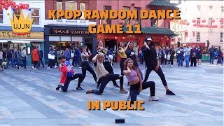 [KPOP IN PUBLIC] RANDOM KPOP DANCE GAME 11 [UJJN] UJJN FAMILY IN LONDON