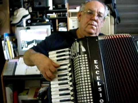 Excelsior Accordion Model 1320s, Song: ALL THE THINGS YOU ARE
