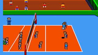 GREAT VOLLEYBALL MASTER SYSTEM