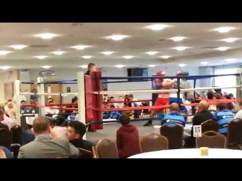 Life for a kid boxing part 2 Jordan Collins vs Jordan Kingsley
