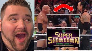 Will GOLDBERG vs UNDERTAKER be TERRIBLE? Wrestling Talk Over Try Treats!