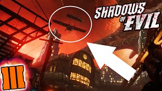 Black Ops 3 Zombies EASTER EGG! - Mob Of The Dead Plane in Shadows of Evil! (BO3 Zombies Easter Egg)