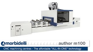 """Morbidelli Author m100 - The affordable """"ALL-IN-ONE"""" technology"""
