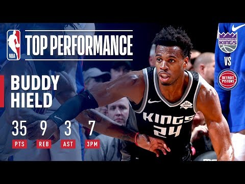Buddy Hield Goes Off And Hits Game-Winner For Kings!   January 19, 2019