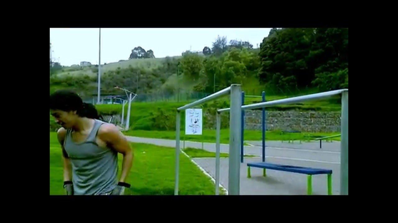 street workout sj pasto muscle up 360 progress + human flag! pds, Muscles