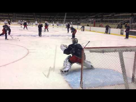 Blue Jackets: Bobrovsky at morning skate