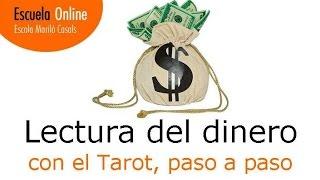 Lectura de Tarot sobre Dinero, explicada paso a paso