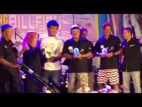 5th place prize ... ROYAL PAHANG BILLFISH INTERNATONAL CHALLENGE 2017