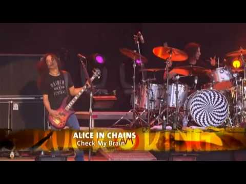 Check My Brain ~ Alice In Chains LIVE @ Rock am Ring 2010