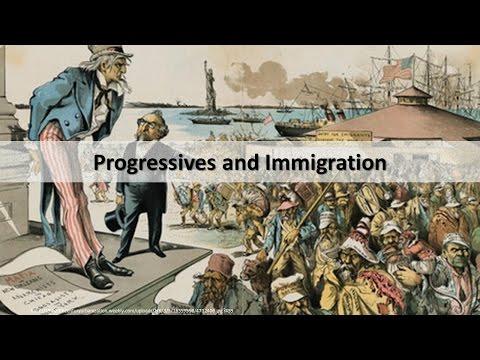 Immigration In Progressive America