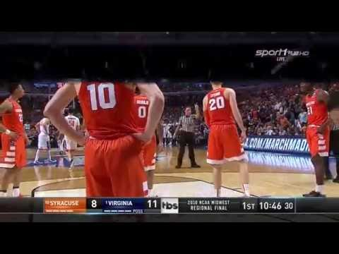 CBB 15/16 Elite 8: MR - #10 Syracuse Orange vs #1 Virginia Cavaliers 03/27/16 (Full Game)