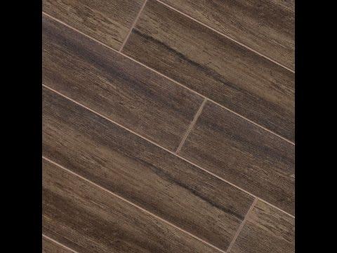 tile floor reclaimed wood look