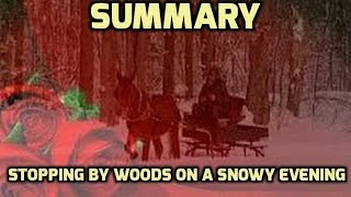 "Poetry Analysis 39: ""Stopping by Woods on a Snowy Evening"" by Robert Frost"