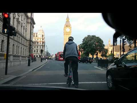 Central London drive - Full HD - July 2014