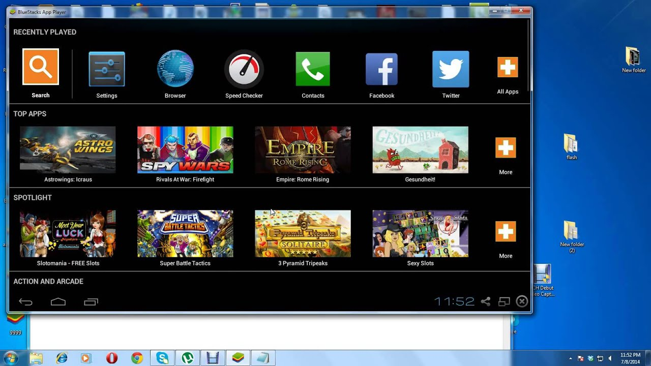 Bluestacks 1 app player