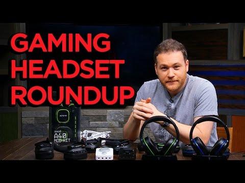 Gaming Headset Roundup!
