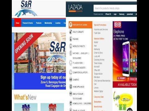 Amazon COSTCO Philippines ? Lazada SnR American Products Retire  Philippines