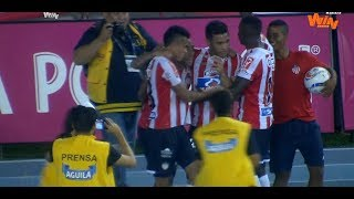 Junior vs. Tolima (4-3) | Liga Aguila 2018-II | Fecha 13