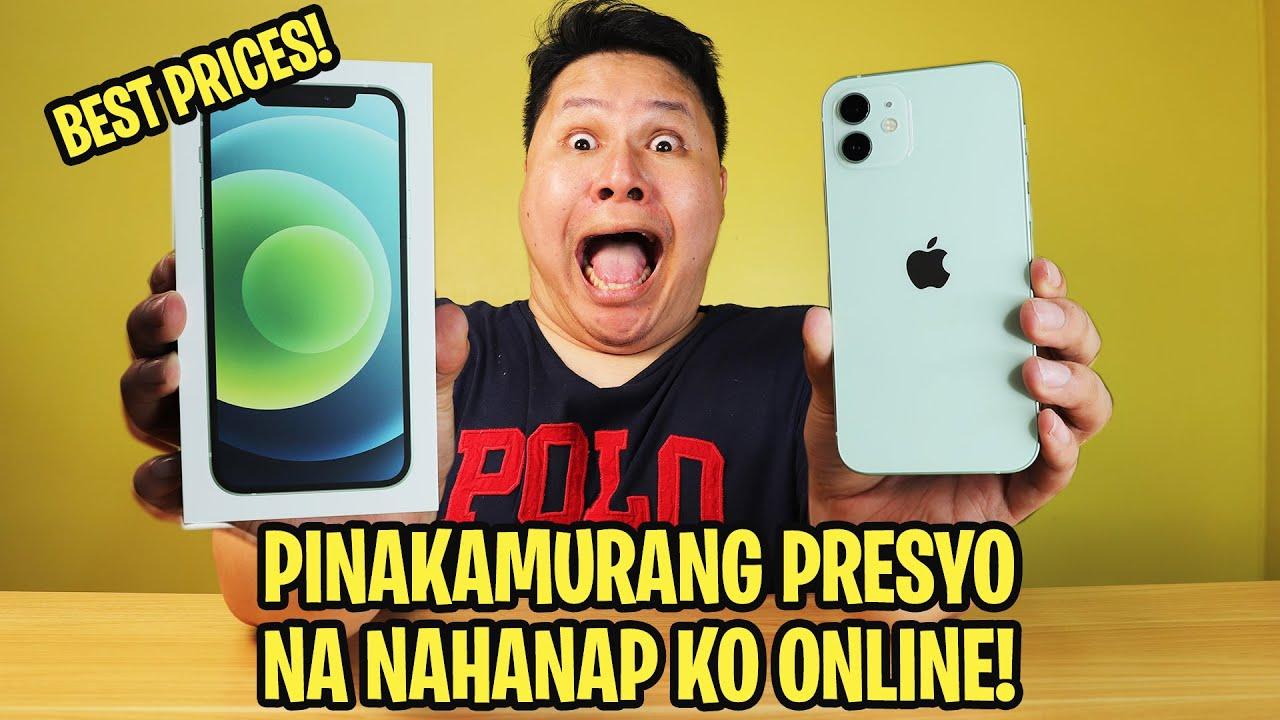 IPHONE 12 - PINAKAMURANG PRICES NAHANAP KO SA ONLINE