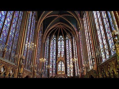 SAINTE - CHAPELLE  PARÍS. Hallelujah. André Rieu
