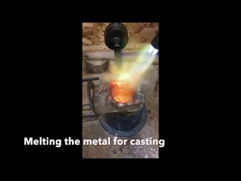 Lost Wax Casting Workshop - students