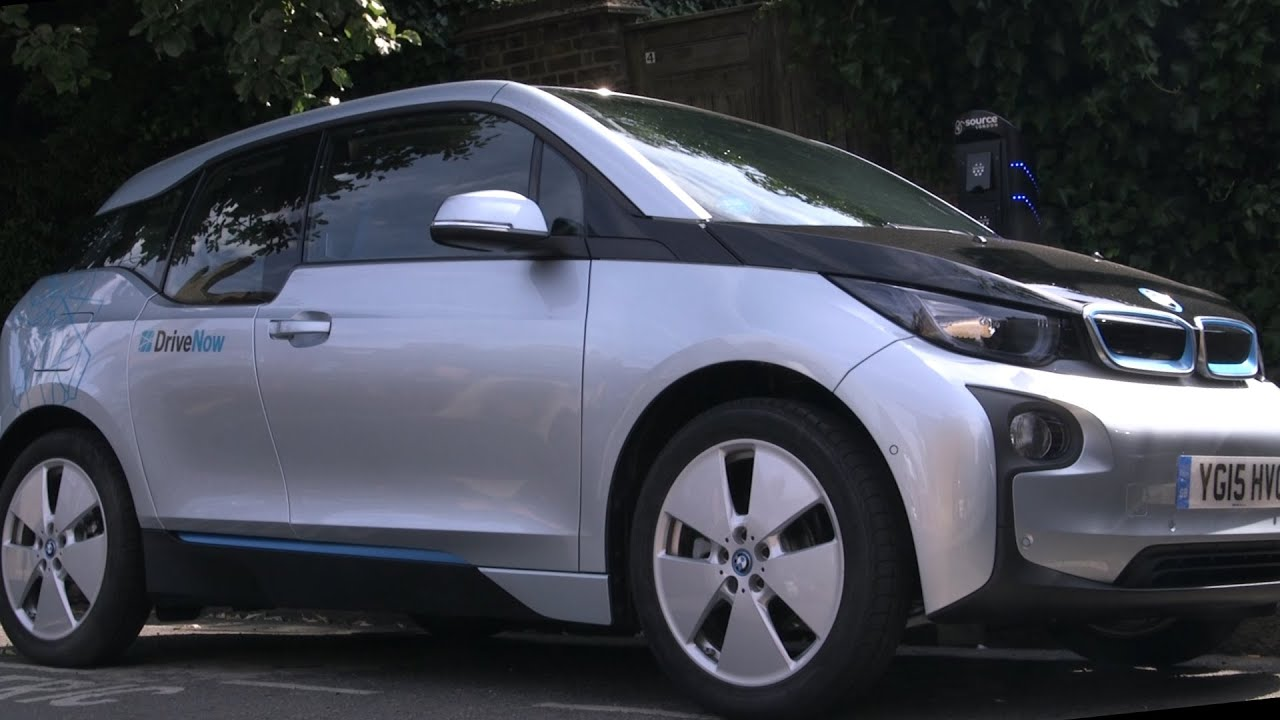 Driving An Electric Car In London