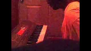 Z-Ro Tired Feat. Mya on the keyboard