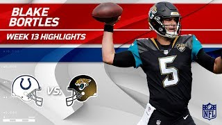 Blake Bortles' Big Day w/ 309 Yards & 2 TDs! | Colts vs. Jaguars | Wk 13 Player Highlights