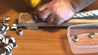 Рез каната #24 нож сталь М390 от Анзар(Нож изготовлен камрадом Ivn F вот ссылка на его канал http://www.youtube.com/channel/UCgjIypPYRmt5xBZlFouOkZg., 2013-10-20T13:13:36.000Z)
