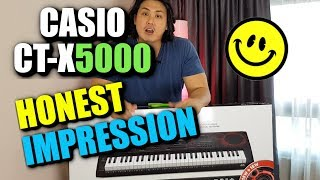 CASIO CT-X5000 Honest Review - Better than Yamaha or Korg keyboards? | CASIO CT-X9000IN