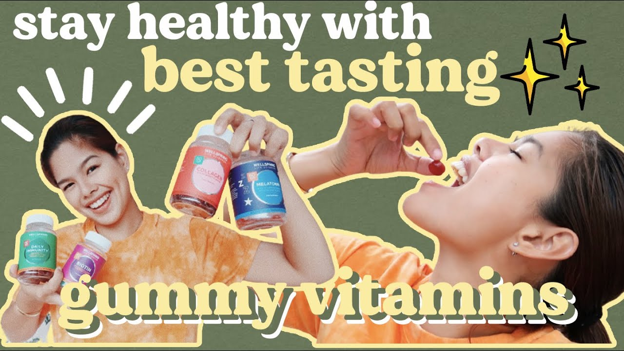 SAY HELLO TO GUMMY VITAMINS & GOOD BYE TO TAKING TABLETS & CAPSULES!   WELLSPRING