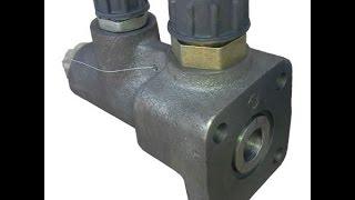 Клапан поділу потоку Т-40
