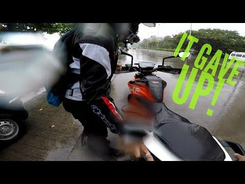 Best day turns into worst | Breakdown | KTM Duke 390 | GoPro Hero 5 |