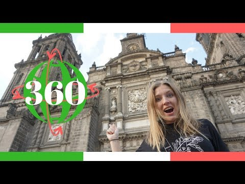 Experience Historic Downtown Mexico City in 360 // Mexico Virtual Vacation
