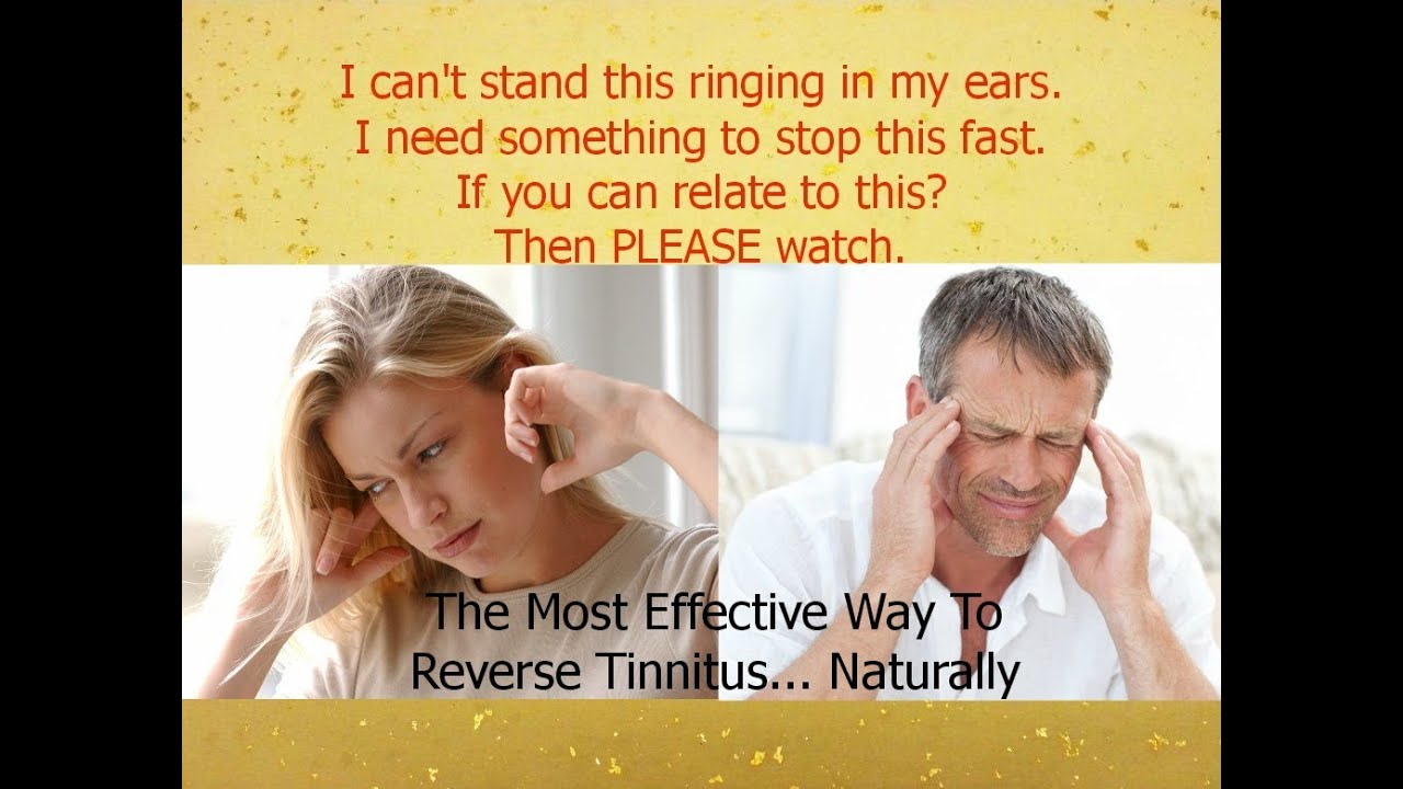 Treatment For Tinnitus Stop Ringing In Ears Fast Safe & Natural ...